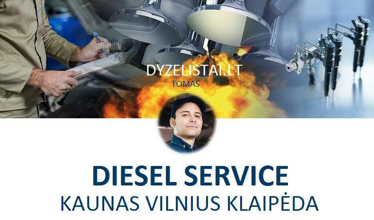 Geriausias dyzelinių variklių servisas