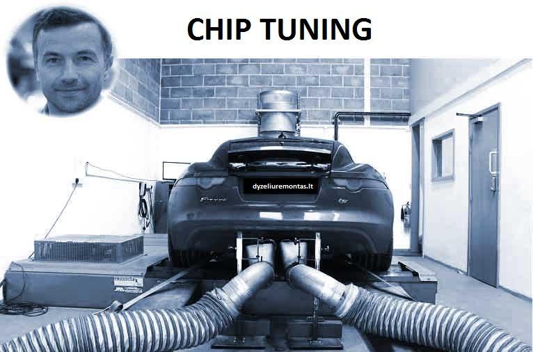 variklio cipavimas chip tiuningas