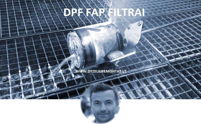 DPF FILTRO DIAGNOSTIKA