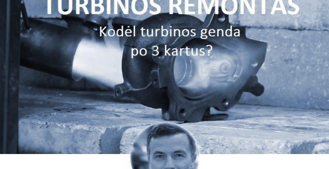 dyzeliniu turbinu remontas Vilniuje Kaune Klaipedoje
